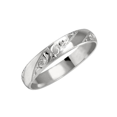 Prsten s ruční rytinou - vzor 019