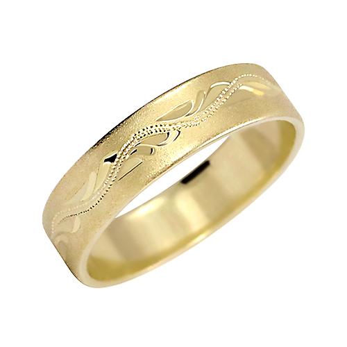 Prsten s ruční rytinou - vzor 297