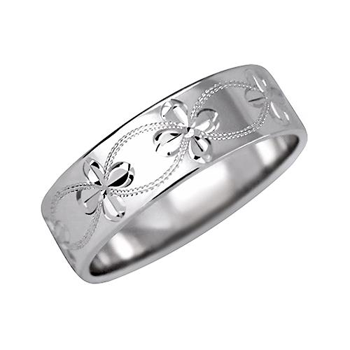 Prsten s ruční rytinou - vzor 307