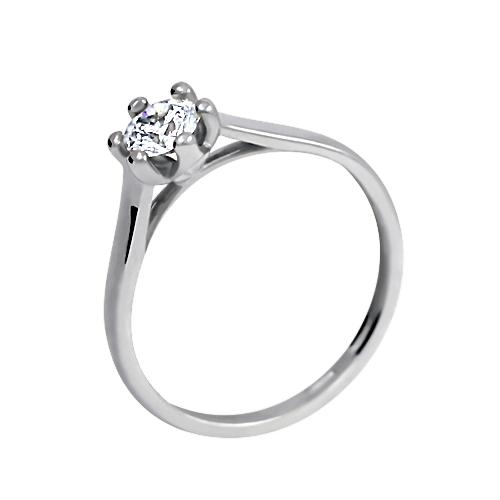 Zásnubní prsten se zorkonem